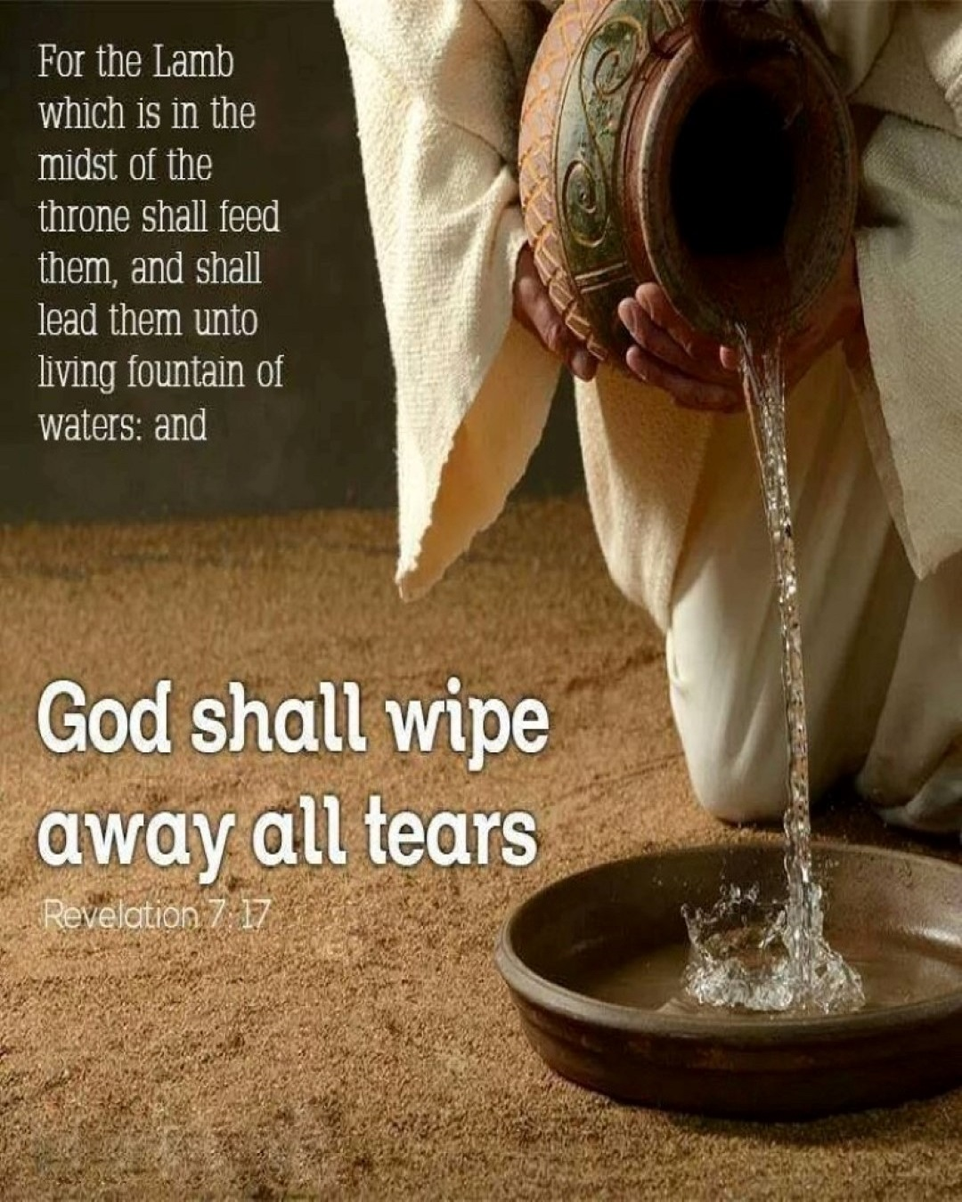 God shall wipe away all tears